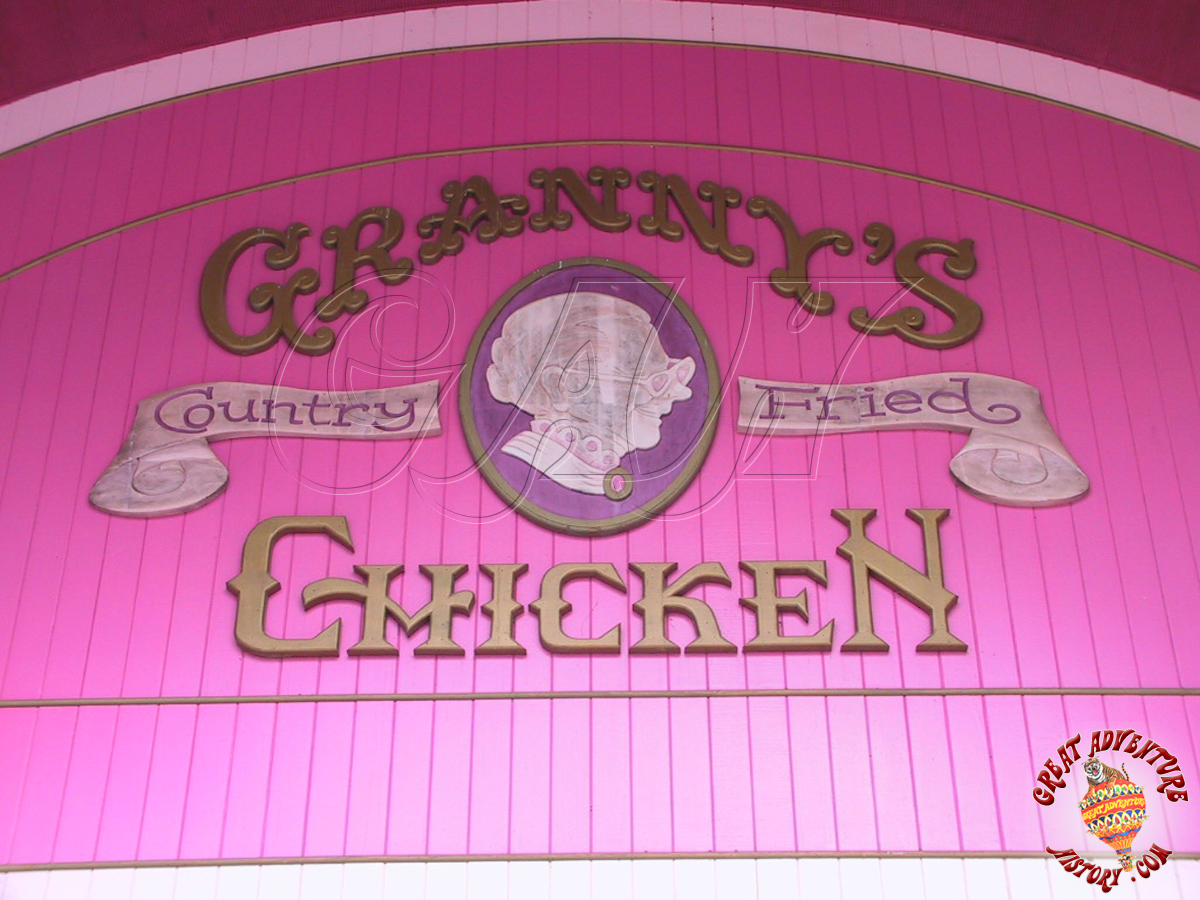 Gingerbread Fancy At Six Flags Great Adventure