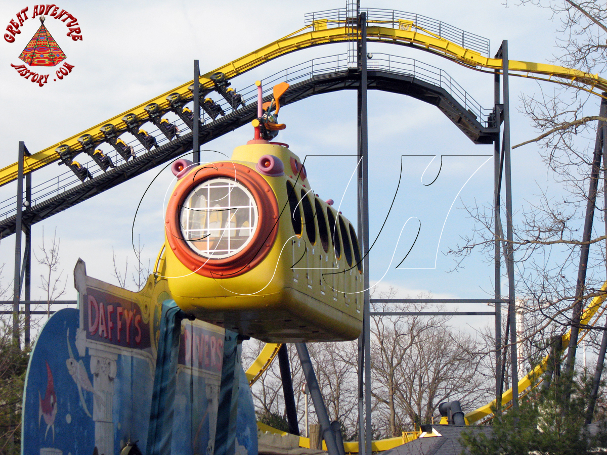 Daffy Diver At Six Flags Great Adventure