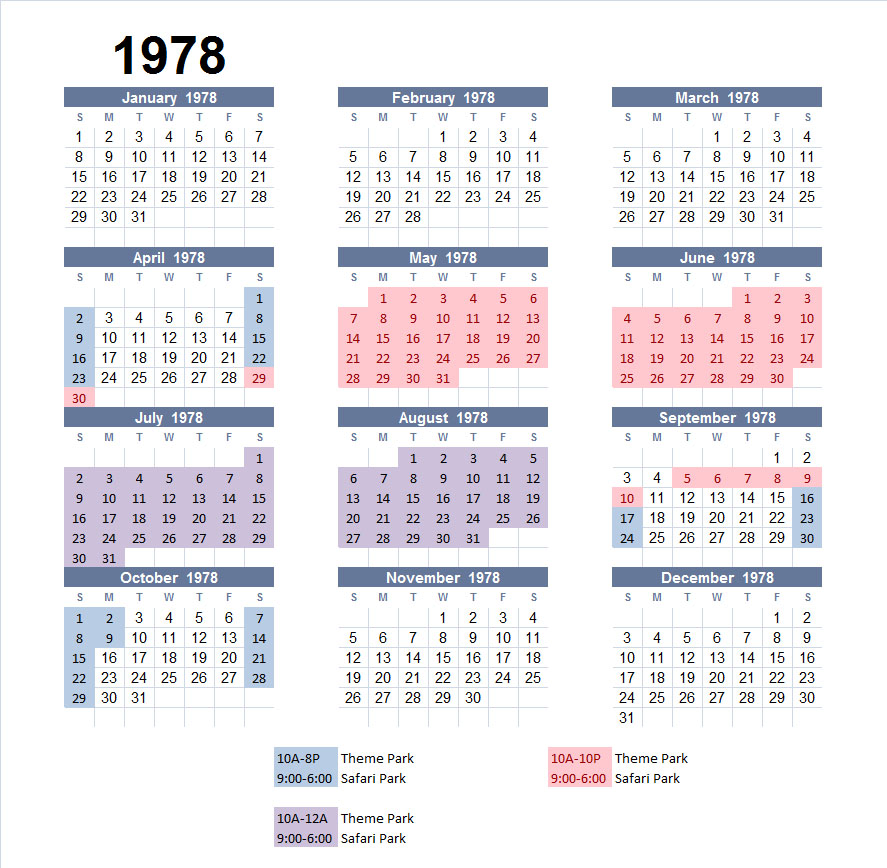 1978 Calendar Pictures To Pin On Pinterest Pinsdaddy