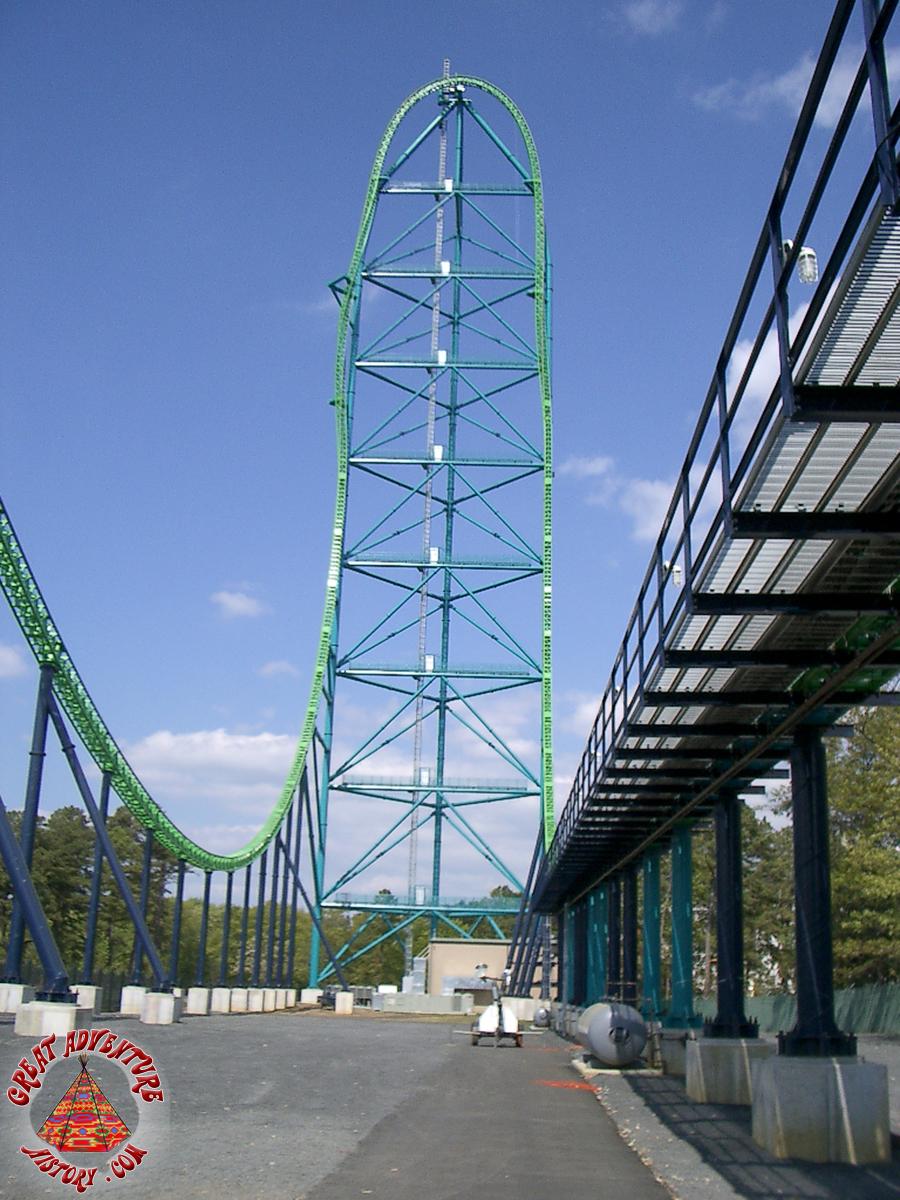 Fastest Roller Coaster In The World >> Kingda Ka Original Queue At Six Flags Great Adventure